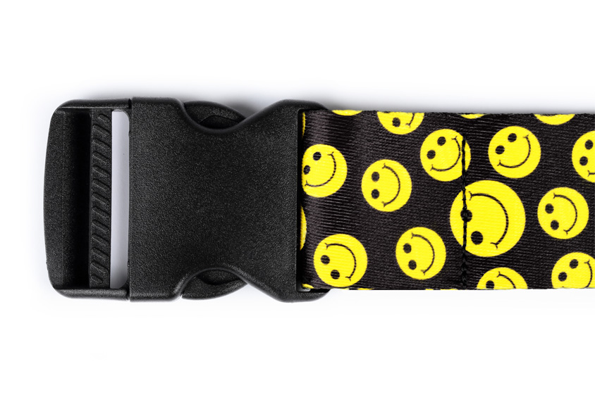 Dynatomy Gait Belt - Smiley Face - Quick Release Buckle