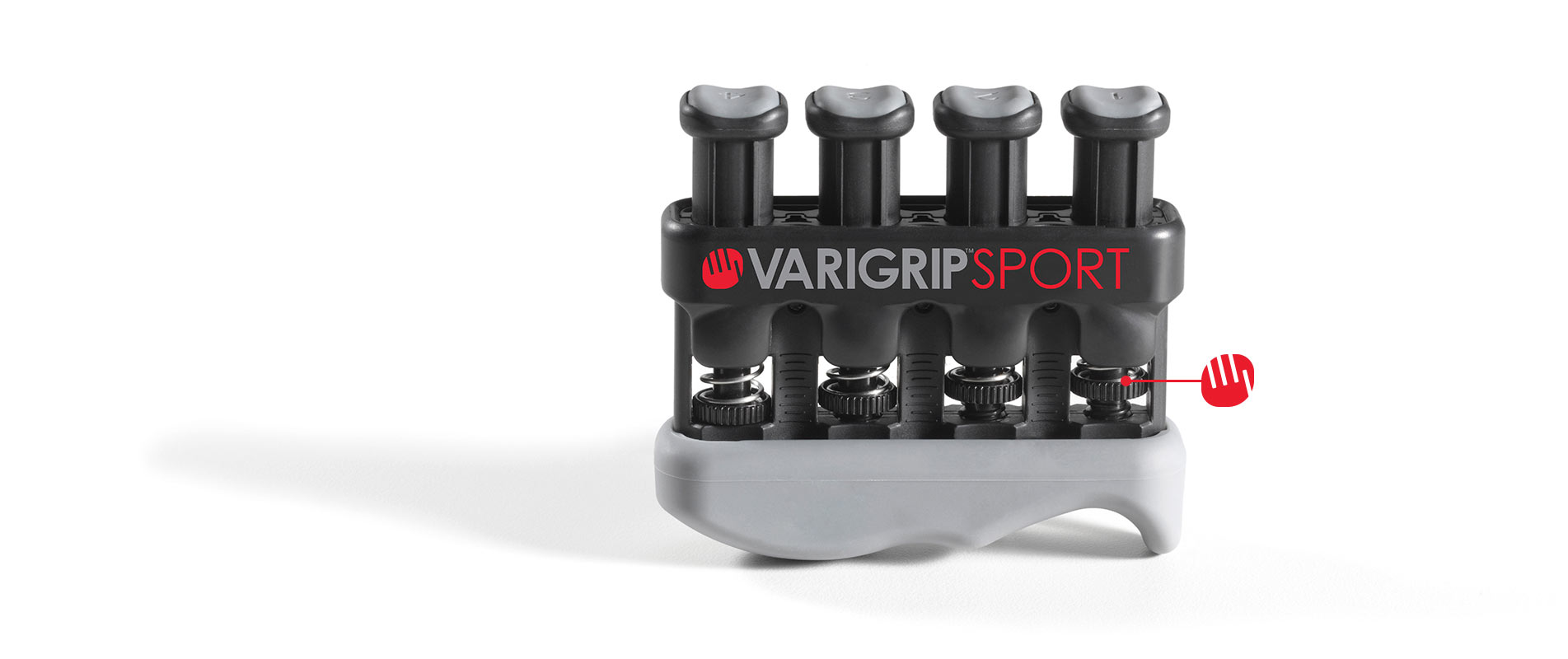 VariGrip Sport with pointer at resistance adjuster