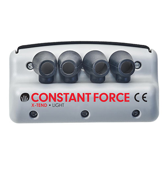 Top view of the Constant Force X-Tend light resistance hand exerciser